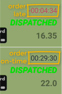 (STEP 7) - Count Down Timer - Dispatch Orders with PrinterCo